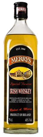 Merrys Irish Whiskey Special Reserve
